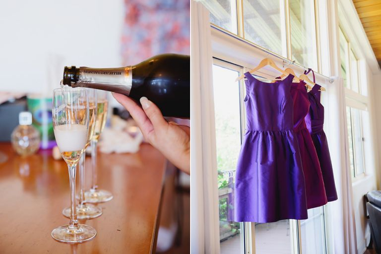 champagne-celebration-and-bridesmaids-dresses