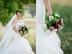 the-bride-and-her-bouquet